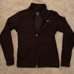 Nike full zip sweater